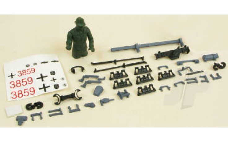 Panzer IV F2 Decals/Driver/Fittings (Grey)