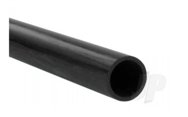 Carbon Fibre Round Tube 4.5x2.5mm 1m