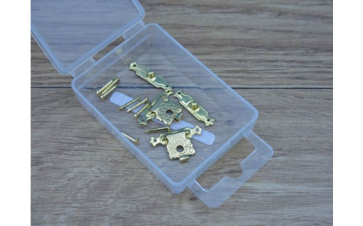 24mm BRASS PLATED CLASPS