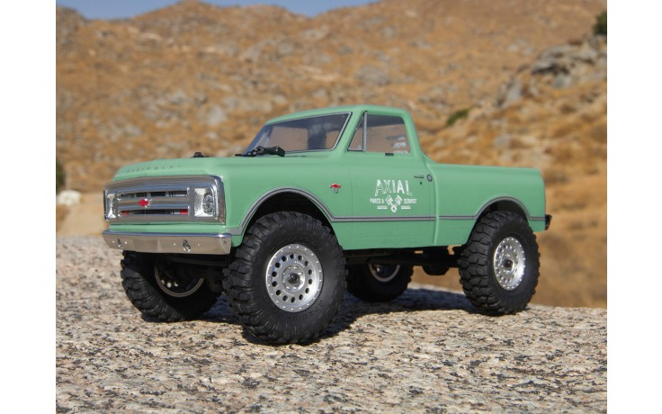 Axial SCX24 1967 Chevrolet C10 1/24 4WD-RTR-Green