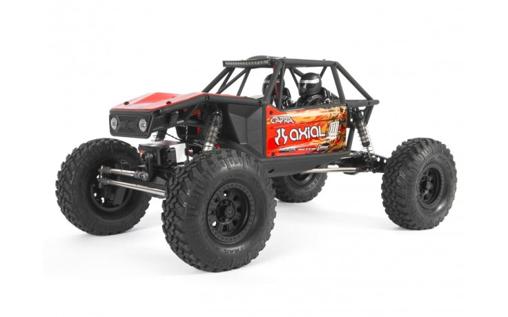 Axial Capra 1.9 Unlimited Trail Buggy 1/10th 4wd Ready to Run - Red