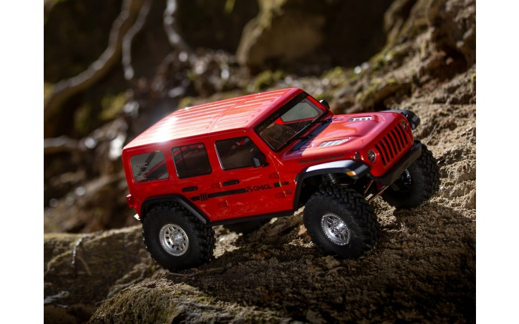 Axial SCX10 III Jeep JL Wrangler 4WD Ready to Run - ORANGE