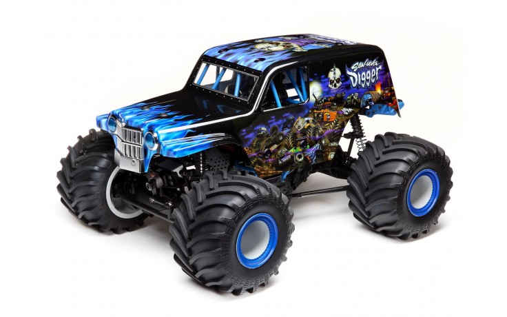 SonUvaDigger 4WD Solid Axle Monster Truck - Ready to Run