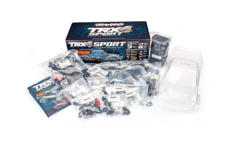 Traxxas TRX-4 Sport Assembly Kit: 4WD (No electronics) C-TRX82010-4  FOR PRE ORDER ONLY