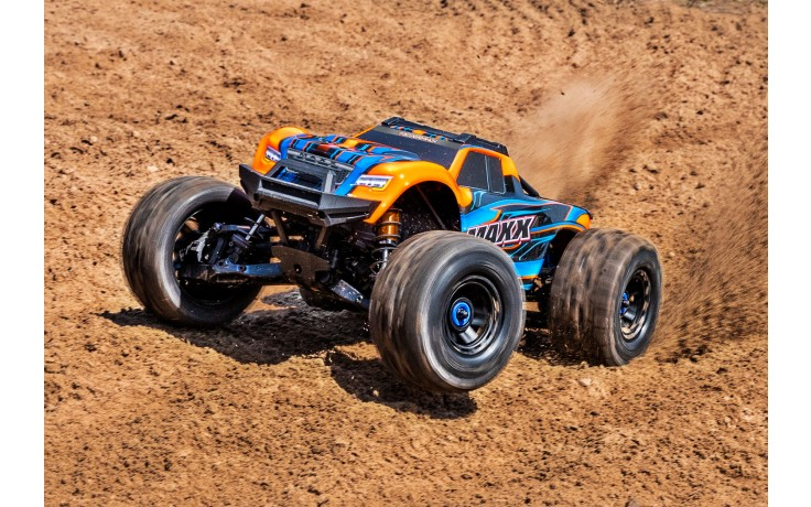 Traxxas Maxx 1/10 4WD VXL (TQI TSM No Battery No Charger) Orange