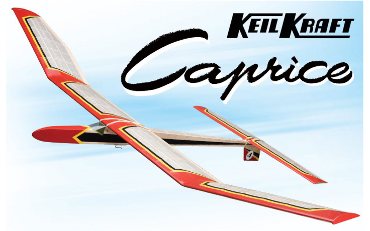 Keil Kraft Caprice Kit - 51 Inch Free-Flight Towline Glider