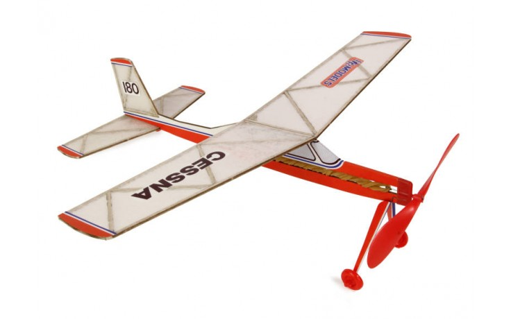 Cessna 180 (Rubber Powered)