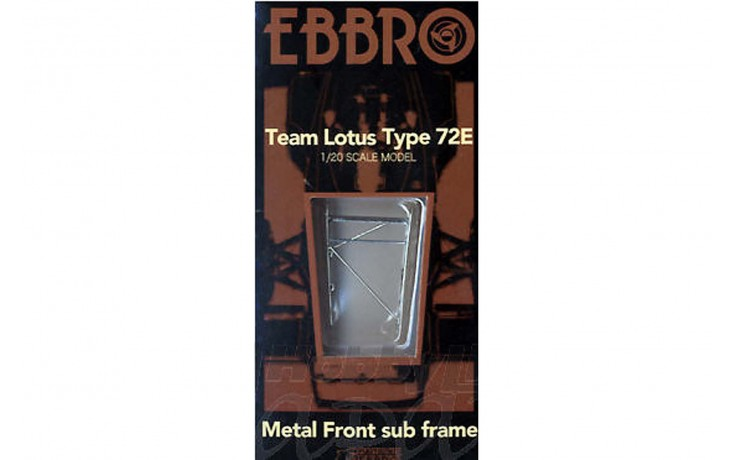 METAL FRONT SUB FRAME FOR LOTUS 72E