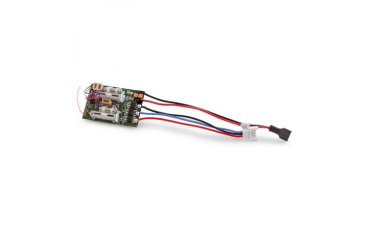 DSMX 6 Channel Ultra Micro AS3X RX for Brushless ESC