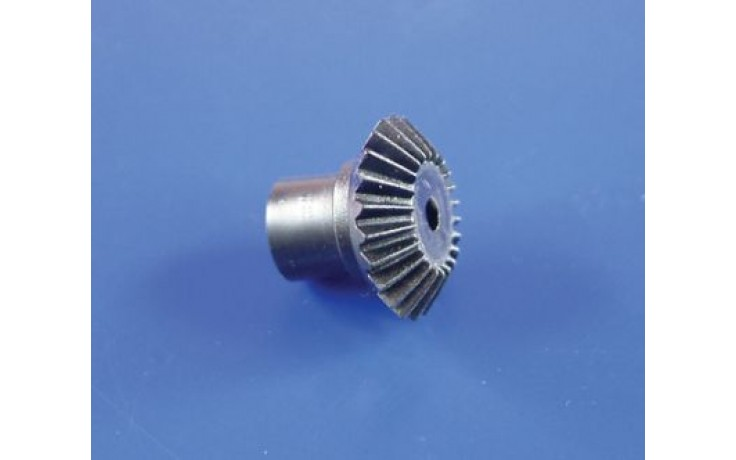 BEVEL GEARS WITH 2MM MOTOR HOLE BLACK