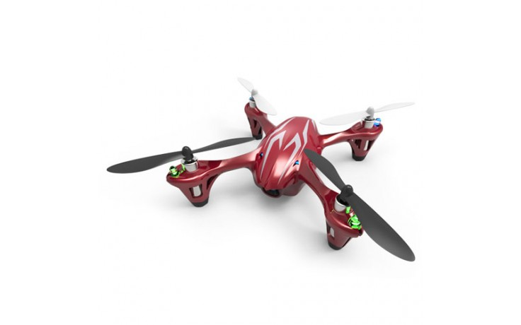 HUBSAN X4 MINI QUAD LED RED w/HD720P CAMERA 4CH 2.4g Mode1