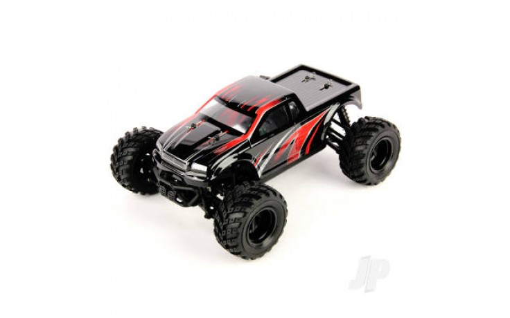 Haiboxing 1:18 RTR Electric 4WD Blaster Truck Red (USB Charger)