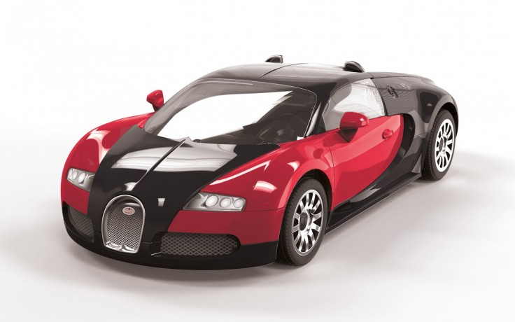 Bugatti Veyron Quickbuild Red and Black