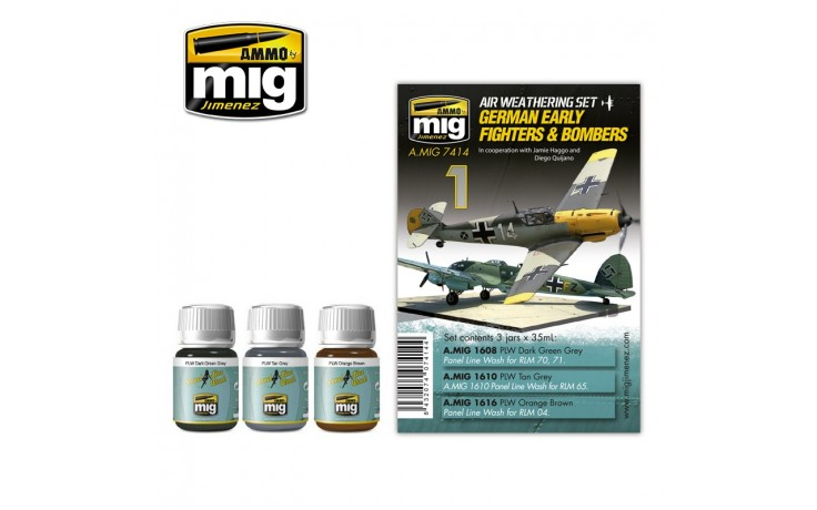 MIG7414 GERMAN EARLY FIGHTERS AND BOMBERS
