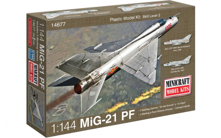 1:144 MIG 21 USSR w/2 marking optio