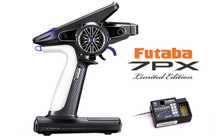 Futaba T7PXR Limited Edition 7-Channel 2.4GHz Transmitter and R334SBS Rx Combo - FOR PRE ORDER ONLY