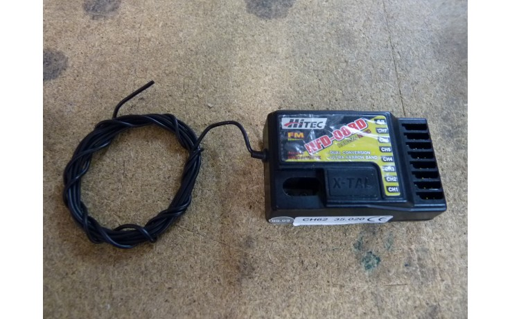 Hitec 35mhz Fual Conversion HFD-08RD Receiver - SECOND HAND