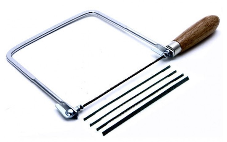 Coping Saw w/5 Blades - 165mm