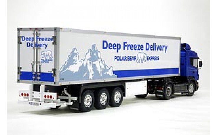Tamiya 3 Axle Reefer Semi Trailer