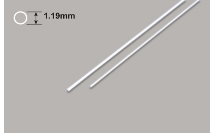 Plastic Coated Wire 1.19Dia x 375mm
