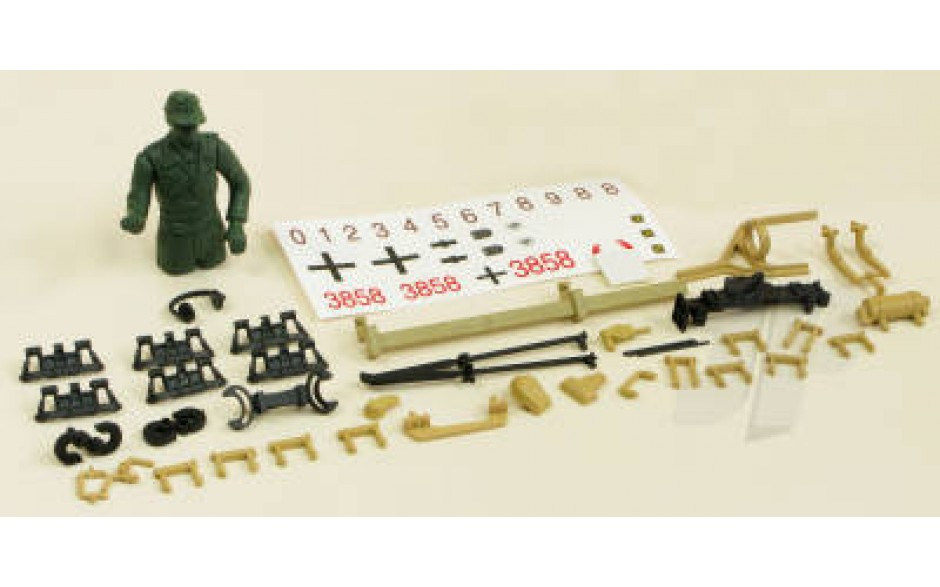Panzer IV F1 Decals/Driver/Fittings (Desert)