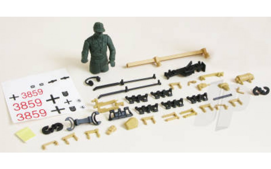 Panzer IV F2 Decals/Driver/Fittings (Desert)