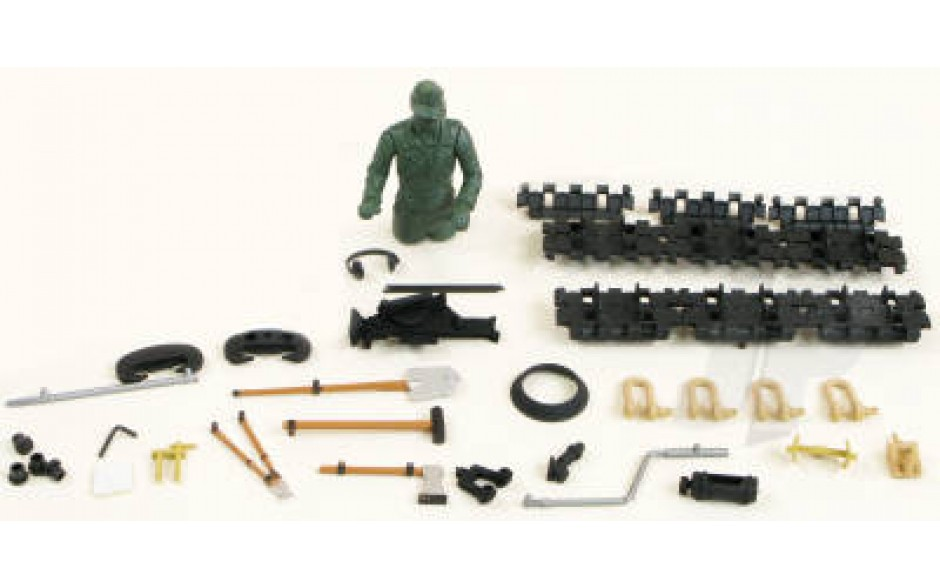 Jagd Panzer Driver and Fittings (Desert)