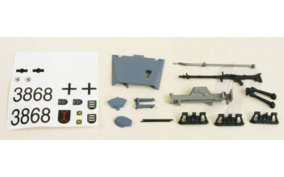Stug III Decals/Driver/Fittings (Grey)