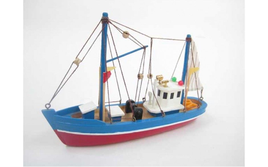 Blue Dolphin - Static wooden boat kit