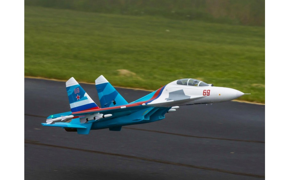 E-Flite Su-30 Twin 70mm EDF BNF Basic