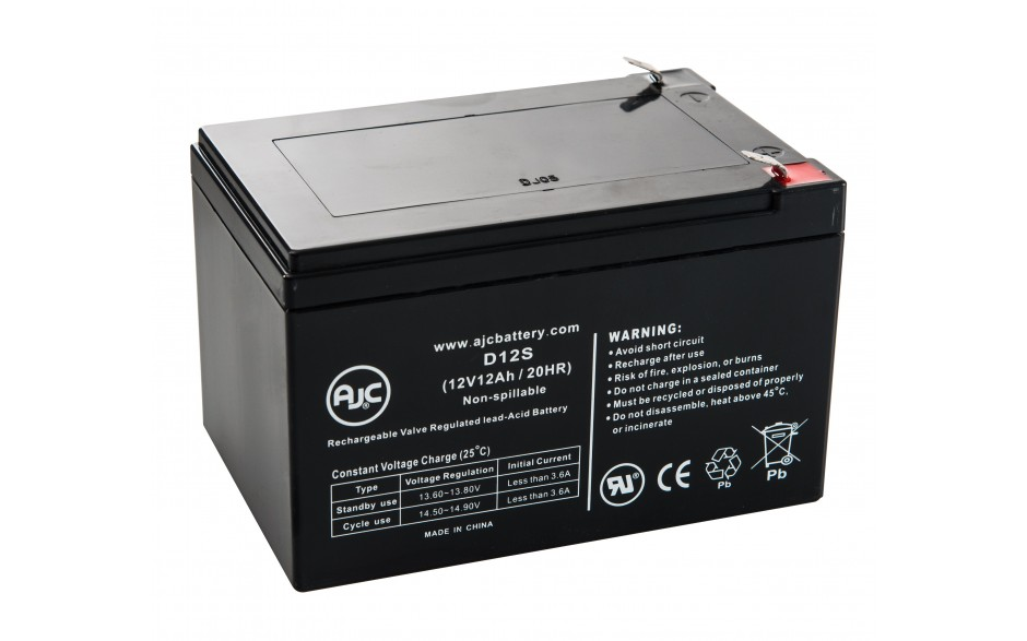 powercell 12v 12ah gel battery sussex model centre smc. Black Bedroom Furniture Sets. Home Design Ideas