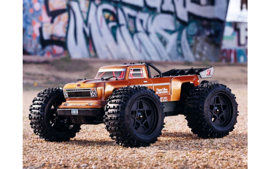 Arrma Outcast 4x4 4S BLX Stunt Truck RTR C-ARA102692 - FOR PRE ORDER ONLY