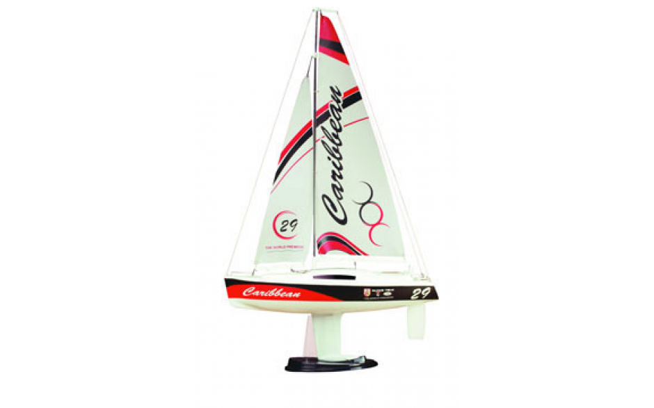 Joysway Caribbean 1:46 Sailboat RTR 2.4GHz [Red]