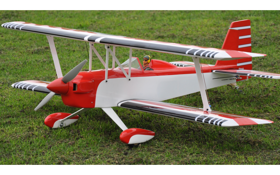 Max Thrust Pro-Build Balsa Double Trouble Red