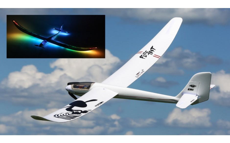 E-flite Night Radian FT 2.0m BNF Basic with AS3X and SAFE Select