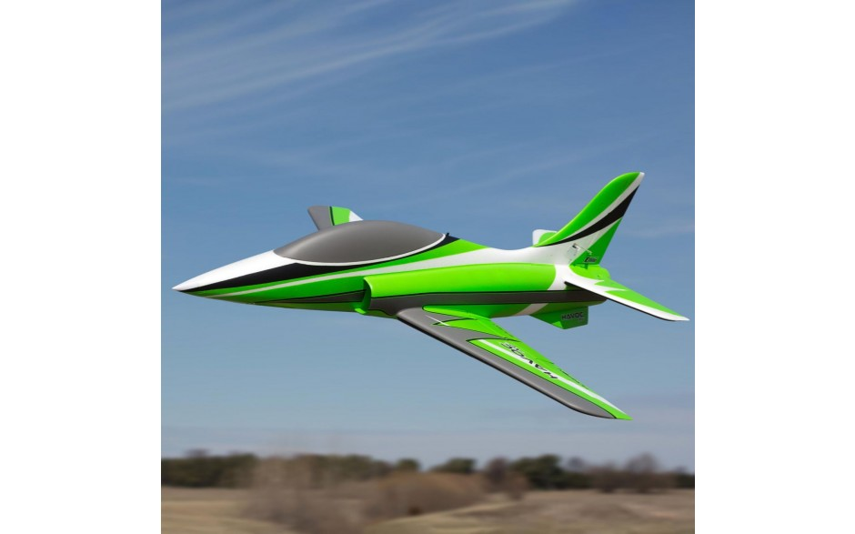 E-Flite HAVOC Xe 80mm EDF Sport Jet BNF AS3X & SAFE Select