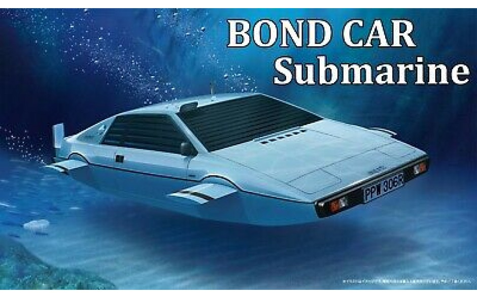 Fujimi James Bond Submarine Car 1/24 scale kit