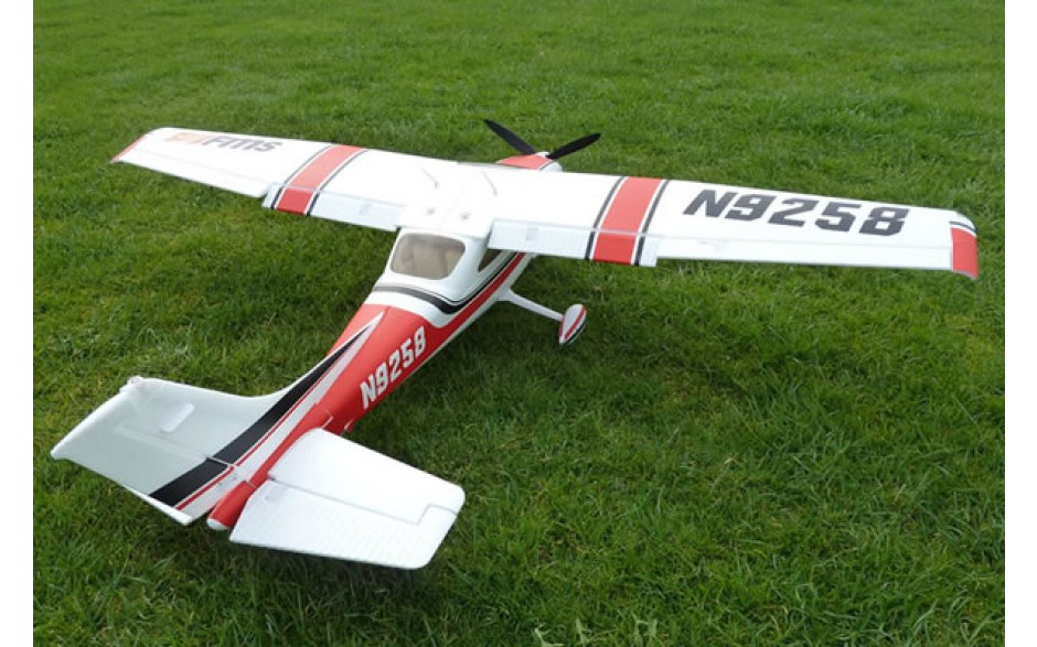 FMS Cessna 182 MK II 1400 Series RTF Electric Aircraft with 2 4ghz Radio  System - Blue