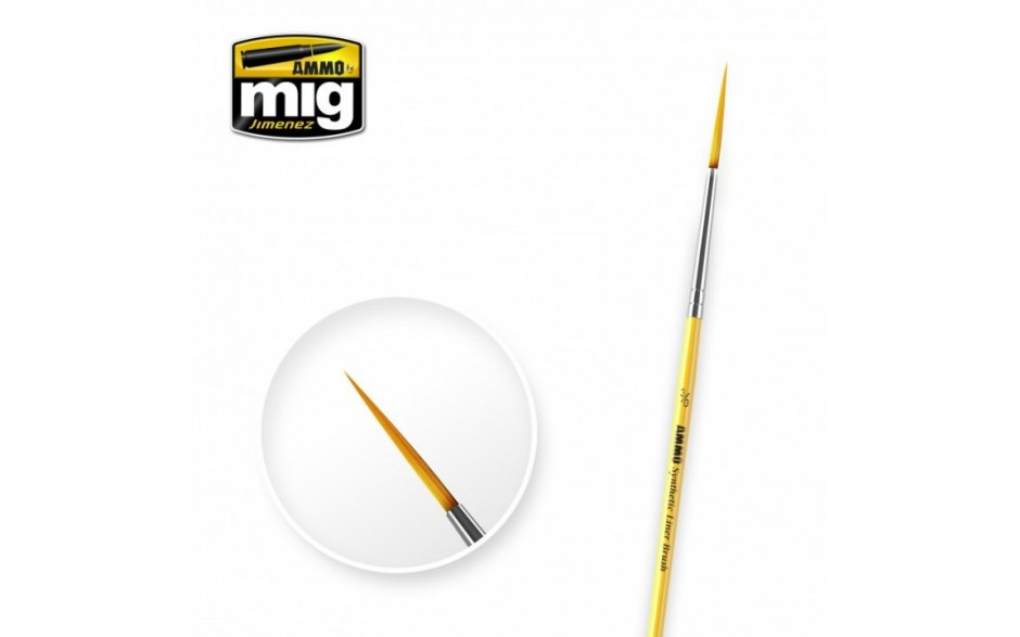 MIG Synthetic Brushes - Liner 3/0