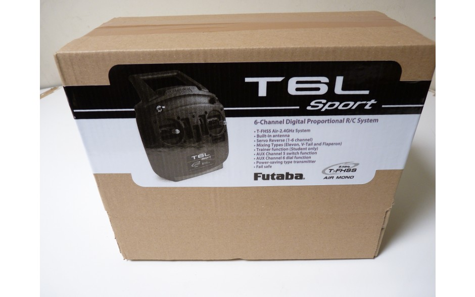 Futaba T6L - Tx and RX combo - SUPPLIED IN BROWN BOX - GREAT VALUE