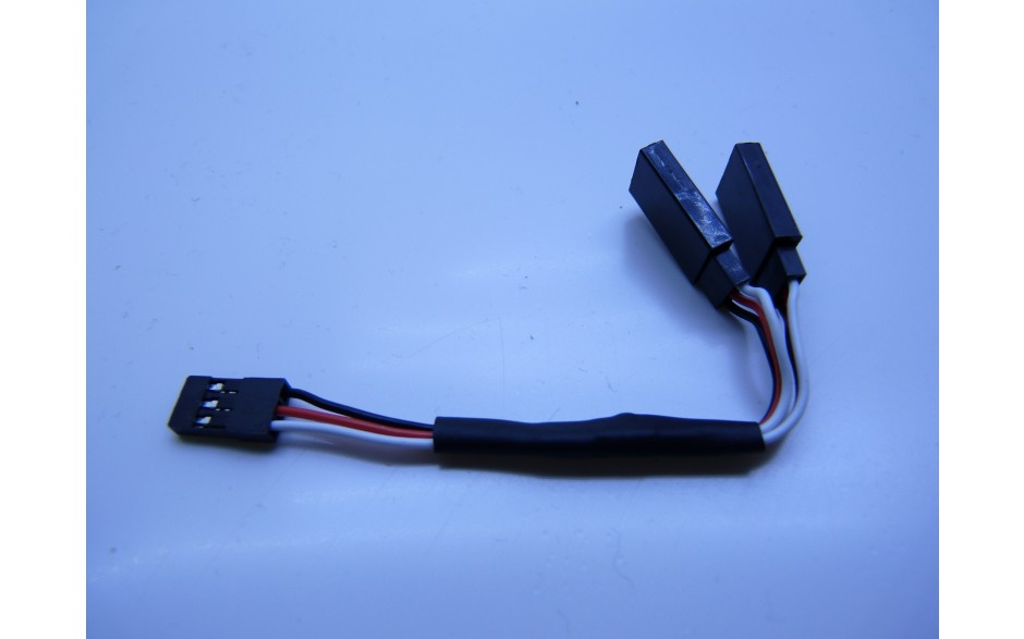 Servo Extension Y cable 10cm Universal plug