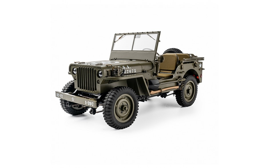 ROC HOBBY 1941 WILLYS MB 1/12TH SCALER Ready to Run