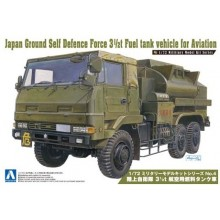 Plastic Kit Aoshima 1/72 Plastic Aoshima kit of  Japan Ground Self Defense Force Aviation 3 1/2 ton Fuel tank vehicle
