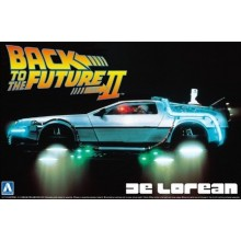 Plastic Kit AOSHIMA 1/24 BACK TO THE FUTURE DELOREAN from PART II 01186