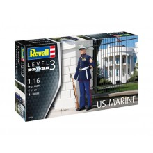 Plastic Kit Revell 1/16 US Marine Model Kit 02804