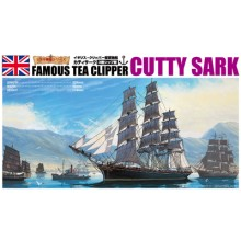 Plastic Kit AOSHIMA 1/350 scale CUTTY SARK 04110