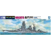 1/700 I.J.N. BATTLESHIP NAGATO 1942 UPDATED EDITION