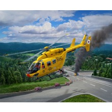 BK-117 ADAC Helicopter 1:72