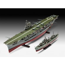 Revell 05149 - Ship model - HMS Ark Royal & Tribal Class Destroyer