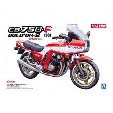 Plastic Kit Aoshima HONDA CB750F BOLD OR -2 OPTION VERSION 1981 05312